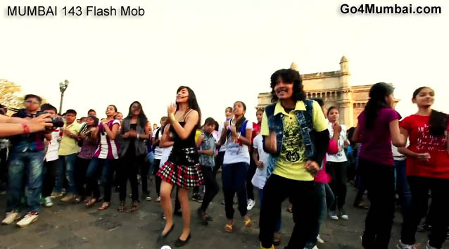 Mumbai 143 Biggest Flash Mob
