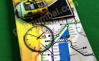 Suburban Local Train Pocket Timetable 15 Oct 2012