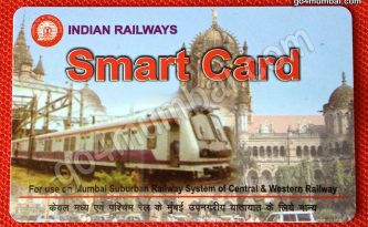 Indian Railways Smart Card Mumbai Suburban Train
