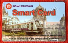 Indian Railways Smart Card for ATVMs