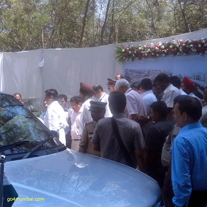 Maharashtra CM Prithviraj Chavan Inaugurating Mumbai Metro
