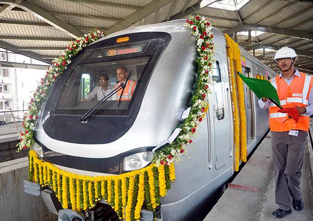 Mumbai Metro inauguration on May Day