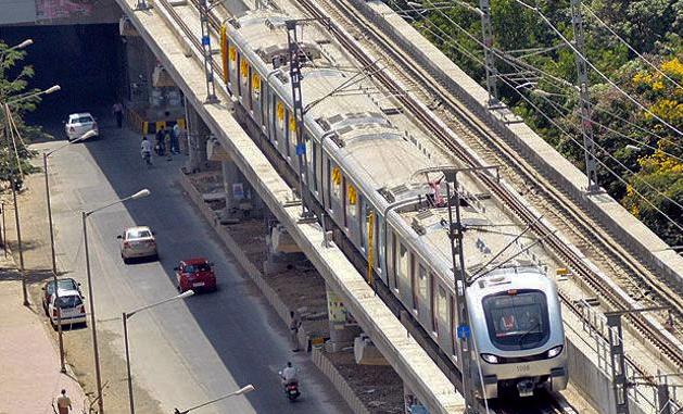 Mumbai Metro Aerial View 2