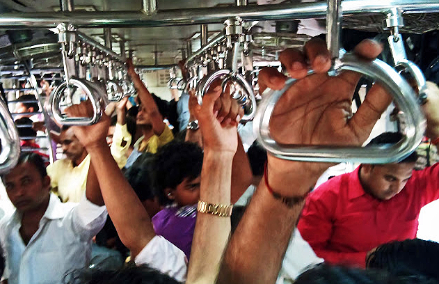 Mumbai Local Train View