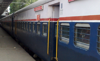 Long distance train india