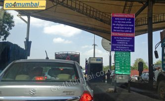Mumbai chargable toll naka