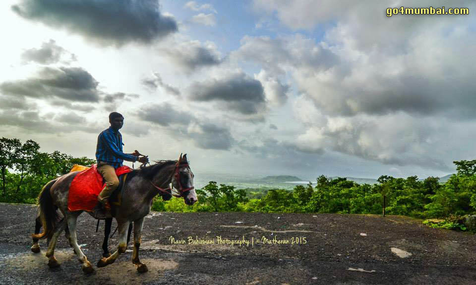 Horse rider Matheran Site seeing