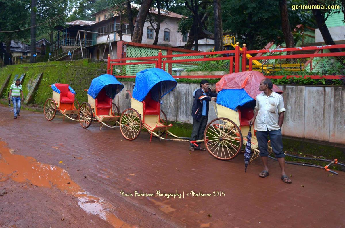 Matheran Horsecarts waiting