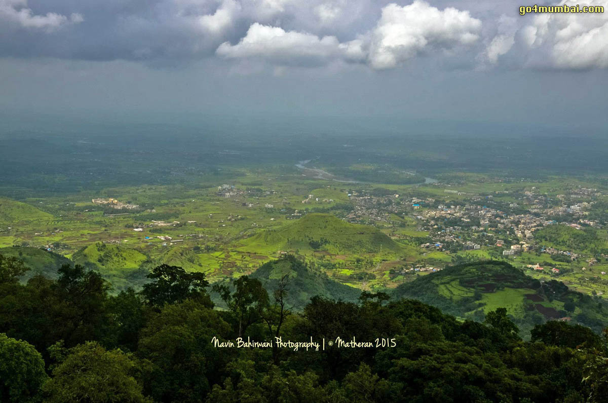 Matheran Monsoon Arial view