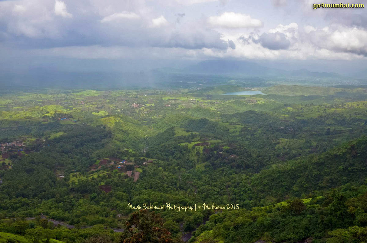 Matheran Mountains top view
