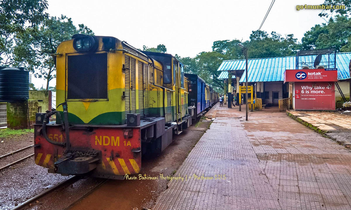 Matheran Toy Train Station Platform