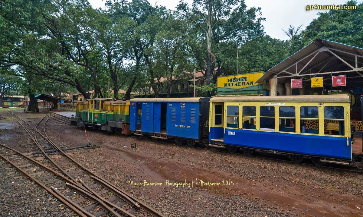 Matheran Toy Train Station