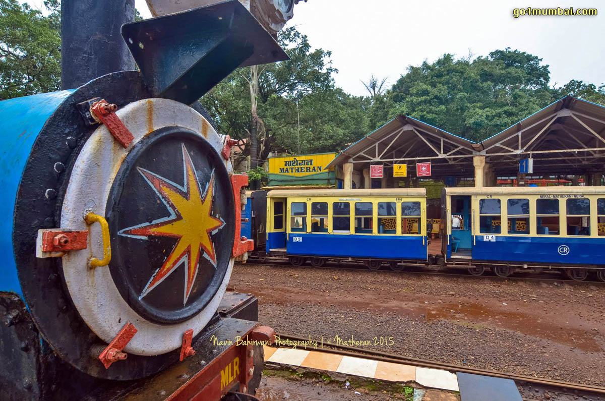Matheran Toy Train view Station