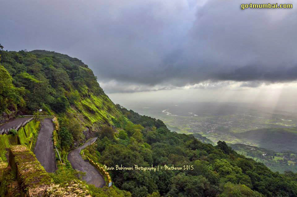 Stunning Neral Matheran Road view from top