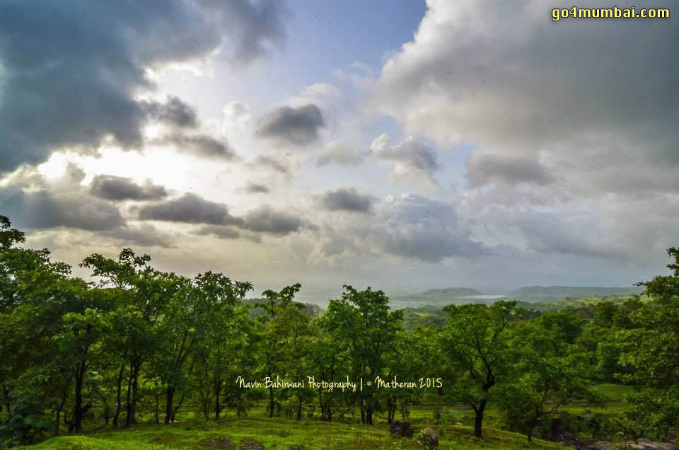 Neral Matheran Scenic view clouds