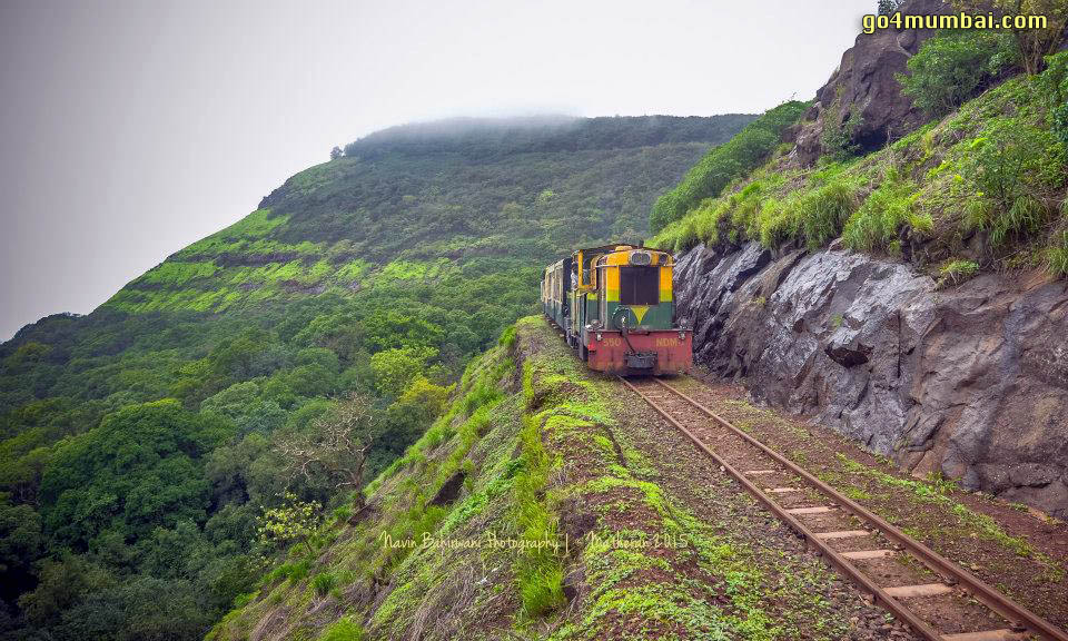 Neral Matheran Stunning Train view