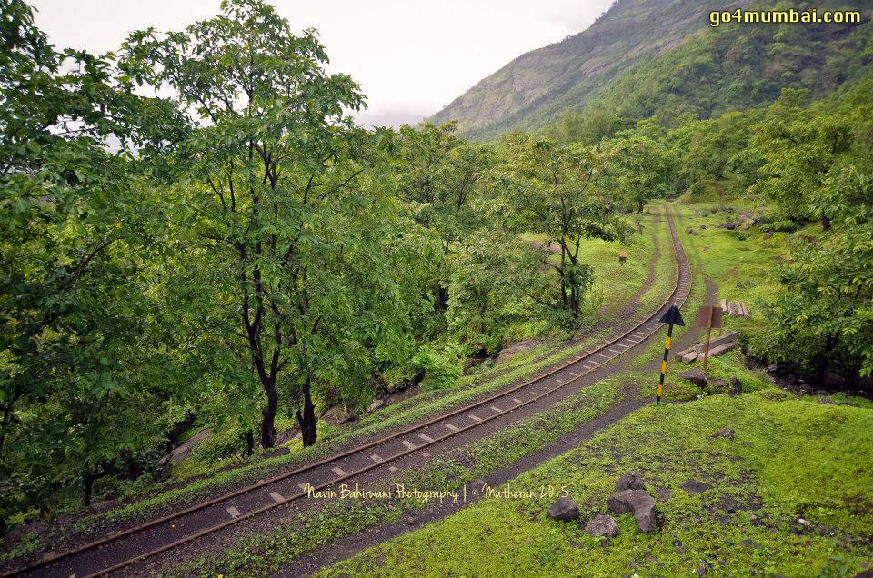 Railway Tracks Toy Train Neral Matheran
