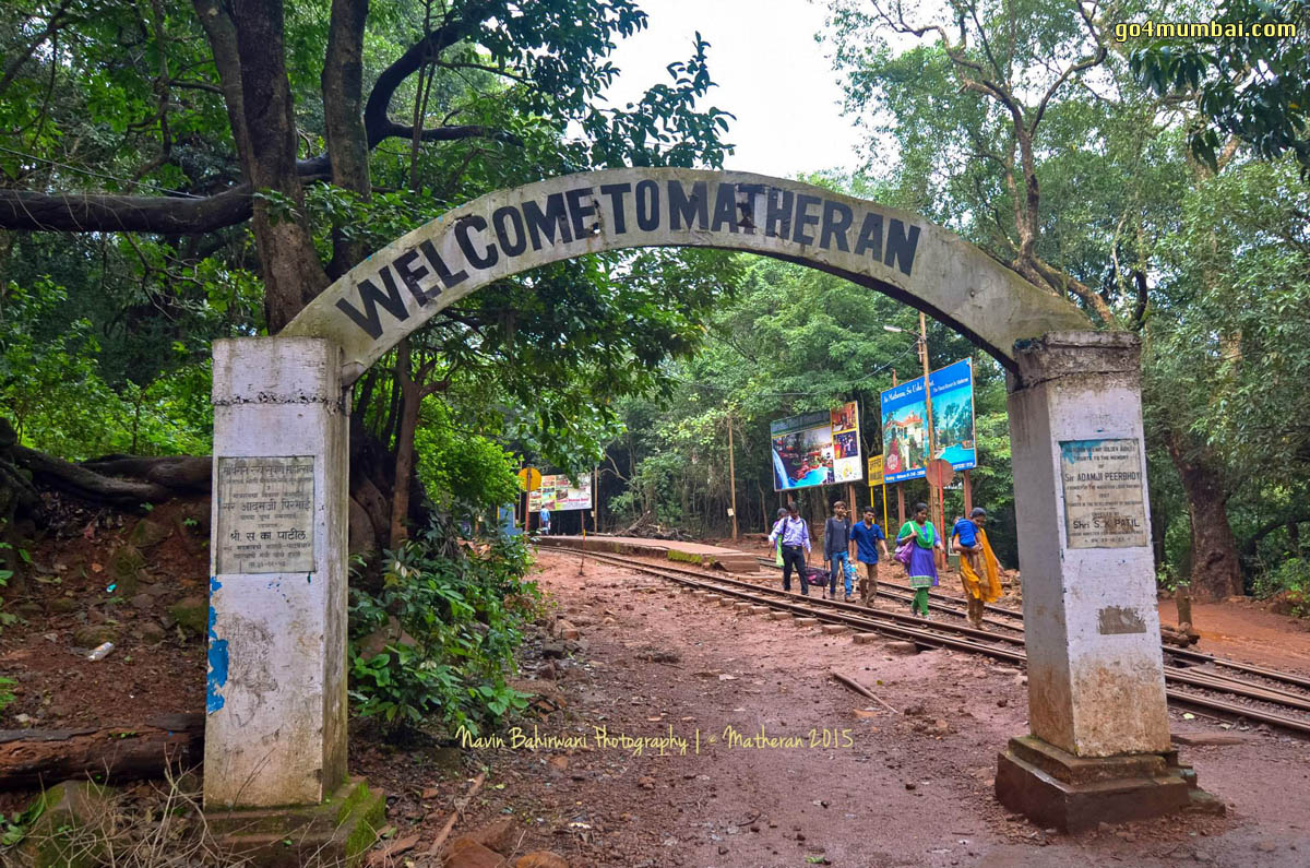 Welcome to Matheran Gate
