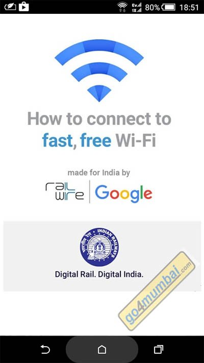Google Free Wifi How To step 1