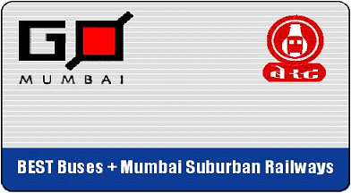 Go Mumbai Smart Card for BEST Buses and Mumbai Suburban Railways