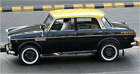 Mumbai Kali Peeli Taxi