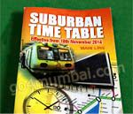 New Central Railway pocket timetable effect from 15 Oct 2012